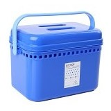 CLARIS Kotak penyimpanan Fancy Box - Biru - Container