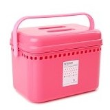 CLARIS Kotak penyimpanan Fancy Box - Pink - Container