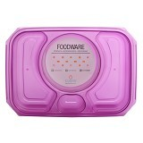 CLARIS Tempat Penyimpanan Makanan Foodsaver 1100ml - Ungu - Lunch Box / Kotak Makan / Rantang