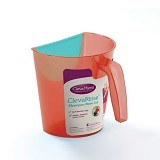 CLEVAMAMA Shampoo Rinse Cup [CM 7407] - Red - Baby Bath Tub and Accesories