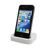 CLICKS MARKET Docking Charger IPhone 5/5s/5c - White - Gadget Docking
