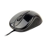 CLIPTEC Viva Wired Optical Mouse [RZS961] - Black - Mouse Mobile