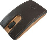 CLIPTEC Wireless Dexigner-Air Mouse [RZS826] - Brown - Mouse Basic