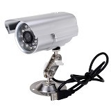 CMOS Camera CCTV Outdoor Micro SD 600TVL - Silver (Merchant) - Cctv Camera