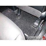 "COMFORT Karpet Deluxe BMW 535 I BT TH""10 1 Set+Bagasi - Black - Karpet Mobil"