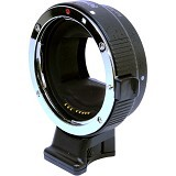 COMMLITE AT Canon EF To Sony E-Mount (Merchant) - Camera Lens Adapter and Bracket