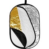 COMMLITE Reflector 5 in 1 100x150cm (Merchant) - Collapsible Reflector