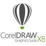 COREL CorelDRAW Graphics Suite X8 Single User License [LCCDGSX8ML1] - Software Photo Editing Licensing