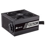 CORSAIR CX750M [CP-9020061-EU] (Merchant) - Power Supply 600w - 1000w
