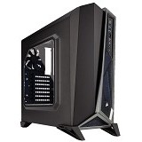 CORSAIR Carbide Series SPEC-ALPHA Mid-Tower Gaming Case [CC-9011084-WW] - Black/Silver - Computer Case Middle Tower