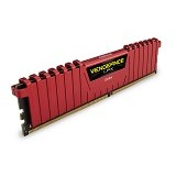 CORSAIR Memory PC 2 x 4GB DDR4 PC4-21300 [Vengeance LPX CMK8GX4M2A2666C16R] - Red - Memory Desktop Ddr4