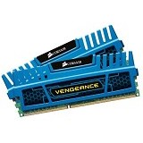 CORSAIR Memory PC 2x 4GB DDR3 PC-12800 [Vengeance CMZ8GX3M2A1600C9B] - Blue - Memory Desktop Ddr3
