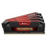 CORSAIR Memory PC 4 x 8GB DDR3 PC3-19200 [Vengeance Pro CMY32GX3M4A2400C11R] - Red