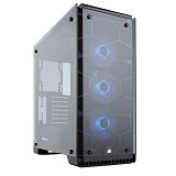 CORSAIR Middle Tower Crystal 570X RGB [CC-9011098-WW] - Computer Case Middle Tower