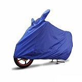 COVER SUPER Sarung Motor XL - Biru Tua - Cover Motor