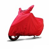COVER SUPER Sarung Motor XL - Merah - Cover Motor