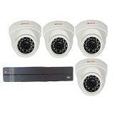 CP PLUS Paket Camera CCTV (4 Camera Analog Indoor) - Cctv Camera