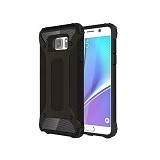 CREATIVE Case Armor Shockproof Galaxy Note 5 - Black (Merchant) - Casing Handphone / Case