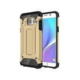 CREATIVE Case Armor Shockproof Galaxy Note 5 - Gold (Merchant) - Casing Handphone / Case