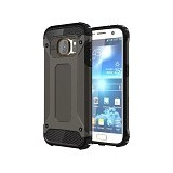 CREATIVE Case Armor Shockproof Galaxy S7 - Black (Merchant) - Casing Handphone / Case