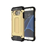 CREATIVE Case Armor Shockproof Galaxy S7 Edge - Gold (Merchant) - Casing Handphone / Case