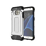 CREATIVE Case Armor Shockproof Galaxy S7 Edge - Silver (Merchant) - Casing Handphone / Case
