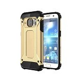 CREATIVE Case Armor Shockproof Galaxy S7 - Gold (Merchant) - Casing Handphone / Case
