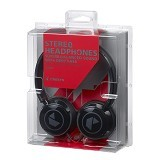 CRESYN Stereo Headphones C250H [CSNC250BK] - Black (Merchant) - Headphone Portable