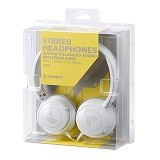 CRESYN Stereo Headphones C250H [CSNC250WH] - White (Merchant) - Headphone Portable