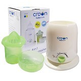 CROWN 4 n 1 Warmer Penghangat Susu Sterilizer (Merchant) - Baby Food Processor