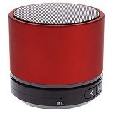 CSI S08U Speaker Bluetooth Mini Super Bass Portable [CSI-AUSK07RE] - Red - Speaker Bluetooth & Wireless