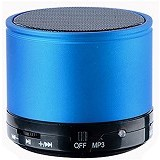 CSI S10U Bluetooth Speaker Mini Super Bass [CSI-AUSK08BL] - Blue - Speaker Bluetooth & Wireless