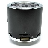 CSI Z12 Speaker Support MicroSD Card USB Flash Disk dan FM Radio [CSI-AUSK04BK] - Black - Speaker Portable