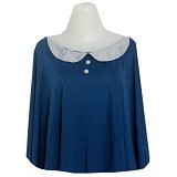 CUDDLE ME Nursing Cape - Blue - Feeding, Boppy Pillows Covers