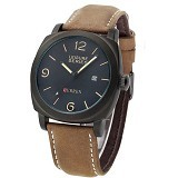 CURREN Casual Military Watch For Men [8158] - Black - Jam Tangan Pria Casual