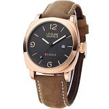 CURREN Casual Military Watch For Men [8158] - Gold - Jam Tangan Pria Casual