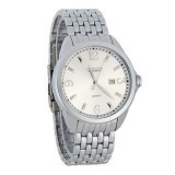 CURREN Casual Style Watch For Men [8071] - Silver - Jam Tangan Pria Casual