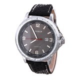 CURREN Casual Style Watch For Men [8120] - Silver Black - Jam Tangan Pria Casual
