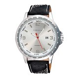 CURREN Casual Style Watch For Men [8120] - Silver White - Jam Tangan Pria Casual