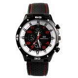 GRAND TOURING Sport Men For Men [GT04] - Dial Red Number - Jam Tangan Pria Fashion