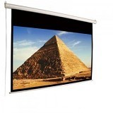"D-LIGHT Motorized Screen 120"" [EWSDL1824RL] - Proyektor Screen Motorize"