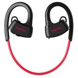 DACOM Sport Swimming IPX7 Waterproof Wireless Bluetooth Headphone [P10] - Black/Red(Merchant) - Headset Bluetooth
