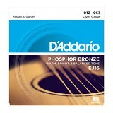DADDARIO Senar Gitar Phosphor Bronze Light [EJ-16]