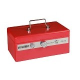 DAICHIBAN Cashbox [CB-35] - Red (Merchant) - Cash Box