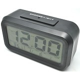 DAIKAZERA SHOP Digital Liquid Crystal Desktop Smart Clock - Black (Merchant) - Jam Meja