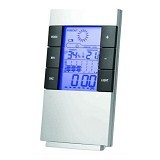 DAIKAZERA SHOP Weather Station Humidity Temperature Alarm Desk Clock (Merchant) - Air Humidifier