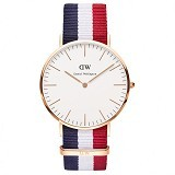 DANIEL WELLINGTON Classic Cambridge [0103DW-GD] - Gold (Merchant) - Jam Tangan Pria Fashion