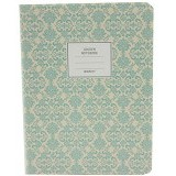 DAOLEN Golden Notebook A6 [B6464] - Green (V) - Buku Catatan / Journal