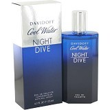 DAVIDOFF Cool Water Night Dive For Man EDT 125 ml (Merchant) - Eau De Toilette untuk Pria