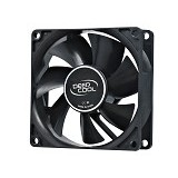 DEEPCOOL Case Fan [XFAN 80] - Black - Kipas Komputer